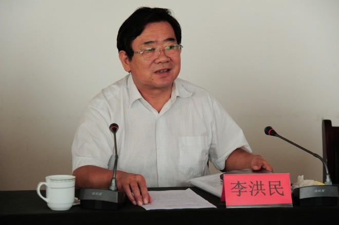 李洪民指导沈丘县付井镇领导班子专题民主生活会